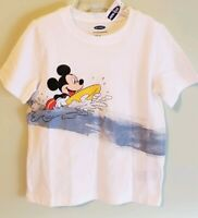 Old Navy Boys 2T 3T 4T 5T Mickey Mouse Tee Shirt Beach Surf Vacation Disney #373