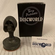 More details for clarecraft discworld dw50 - death bookstamp ~ boxed (terry pratchett)
