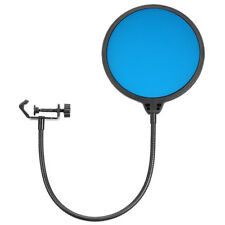 """Neewer Blue Double-Layer 6"""" Microphone Pop Filter Wind Screen Mask Shield"""