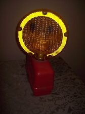 New listing Vintage Paralta Smile Face Mainline Caution Signal Light Portable