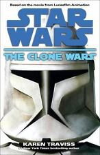 The Clone Wars Star Wars by Karen Traviss Hardcover Book Science Fiction Sci-fi