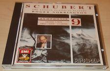 "SCHUBERT-SYMPHONY NO. 9 ""GREAT""-W/G 1ST ISSUE CD 1990-ROGER NORRINGTON-MINT"