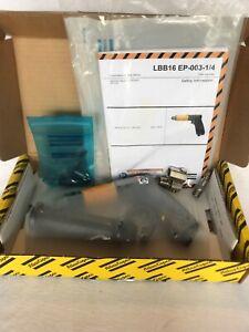 NIB Atlas Copco Pistol Grip Drill LBB16 EP-003-1/4