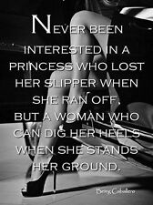FEMALE Quotes Inspirational 4k High Quality Canvas wall arts choose your size