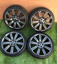"22"" set Stormer  Range Rover,Discovery style alloy wheels with tyres 5x120"