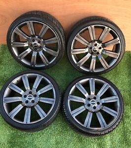 """22"""" set Stormer  Range Rover,Discovery style alloy wheels with tyres 5x120"""