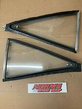 Mopar B Body 1968 -1970 1/4  Quarter Window Glass  Post Car Coronet   DODGE ONLY