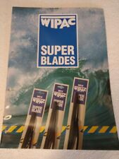 WIPAC SUPER BLADES WIPER ARMS BLADES AND REFILLS PARTS BOOK UP TO 1991 RB511