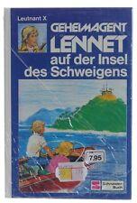 Geheimagent Lennet auf der Insel des Schweigens - Band 11 - Leutnant X NEU Folie