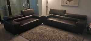 Echtleder Couch gebraucht