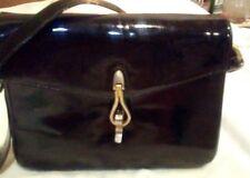 Lederer de Paris  Shoulder Bag Purse Black patent.vintage