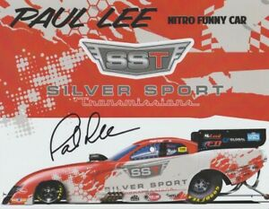 2021 Paul Lee signed Silver Sport Transmissions Dodge Charger FC NHRA Hero Card