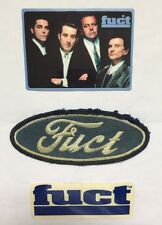 Original Vintage FUCT Ford Patch & Good Fellas, Early 90's! Not Reproduction!
