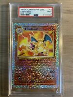PSA 9 Charizard Legendary Collection Box Topper Card 2002 Pokemon WOTC #S1