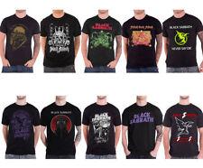 Graphic Tee Black Sabbath T-Shirts for Men