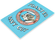 TIN SIGN Toasted Navy Cut Retro Tobacco Sign Smoke Shop A178