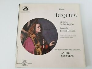 HMV SAN 107 LP Faure Requiem - De Los Angeles / Cluytens NEAR MINT