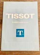 TISSOT CATALOGO OROLOGI ANNI '70 - VINTAGE - RARO
