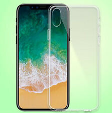 ES 100% GENUINE Ultra Thin TPU PC Soft Case Cover For iPhone X  5.8''