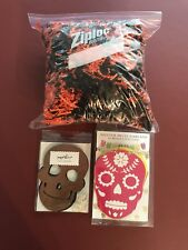 Halloween Gift Basket Shred Crinkle Paper Filler, Banner & Garland NEW