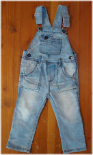•●✿✿●• Jeans Latzhose Jungen Hose Gr. 86 von Topomini Topolino •●✿✿●•