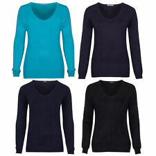 Women's Cashmere None V Neck Jumpers & Cardigans