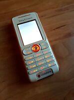 Sony Ericsson W200i Walkman in Bianco-Arancio