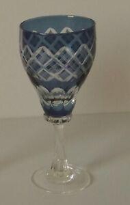 Römer Glas Weinglas Blau