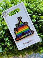 Disney Parks Rainbow Collection Castle Pin Walt Disney World 2020- NWT