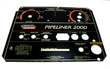 Lincoln Pipeliner 200d Oem Faceplate L11952 Bw742