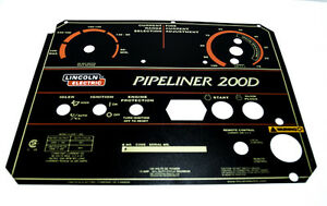 Lincoln Pipeliner 200D OEM FACEPLATE (L11952)  BW742