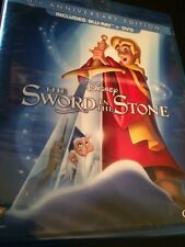 The Sword in the Stone (Blu-ray and DVD, 2013, 2-Disc Set) FAST SHIPPING