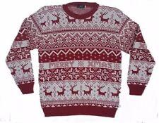 Christmas Xmas Jumper Sweater Unisex Retro Novelty Vinatage Ladies Mens New