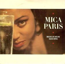 "MICA PARIS Breathe Life Into Me 7"" Single Vinyl Record 4th And Broadway 1988"