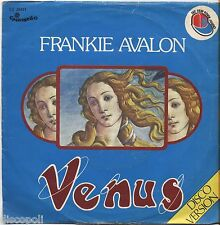 "FRANKIE AVALON - Venus - VINYL 7"" 45 ITALY 1976 VG+ COVER  VG- CONDITION"