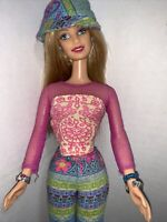 2000 Flower Power Blonde barbie With Original Clothes & Shoes