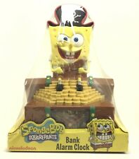 Spongebob Squarepants Alarm Clock & Bank Brand New Sealed