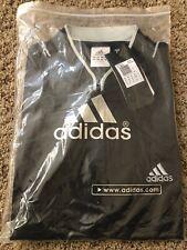NEW ADIDAS Mens XXXL 3X  Clima Cool Shirt ~ Black ~ Short Sleeves