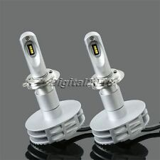 2X 80W 16000LM H7 LED Headlight Headlamp Conversion Kit PHILIPS Chips Bulb