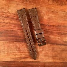 20mm Rare Cork On Leather  Watch Strap