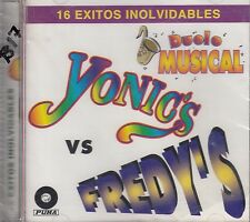 Los Yonics VS Los Fredys 16 Exitos Inolvidables Duelo Musical 2CD New Sealed