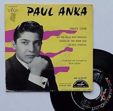 "Vinyle 45T Paul Anka  ""Crazy love"""