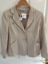 Women's Size 10 Tailored Jacket by BHS Neutral