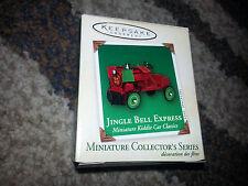 HALLMARK Keepsake 2003 JINGLE BELL EXPRESS #9 Miniature KIDDIE CAR CLASSICS New