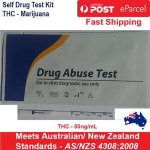 x5, x10, x20 - THC Drug Self Test Kit Strips Marijuana Cannabis Weed Accurate