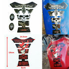 Motorcycle Devil Skull Gas Oil Fuel Tank Pad Protector Decals Racing Sticker