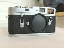 1968 Leica M4 Chrome Rangefinder 35mm Film Camera Body #121193*