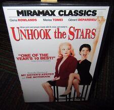 UNHOOK THE STARS DVD MOVIE, MARISA TOMEI, GERARD DEPARDIEU, FUNNY & TOUCHING,EUC