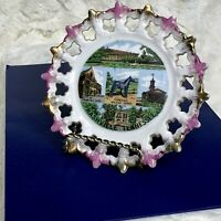 VINTAGE Nashville TENNESSEE State Gold Trimmed Souvenir Collector's Plate 6in