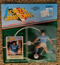 MINT Vintage DIEGO MARADONA action figure KENNER toy FORZA CAMPIONI soccer CARD